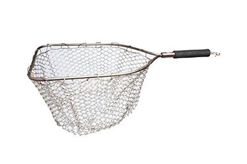 Adamsbuilt Aluminum Trout Net with Camo Ghost Netting 19 Aluminum Trout Net with Camo Ghost Neting 19 BronzeCamo