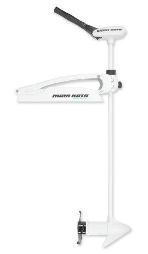Minn Kota Riptide 80 SM Bow-Mount Trolling Motor with BowGaurd 360 Bracket and Digital Maximizer 80-lb Thrust 52 Shaft