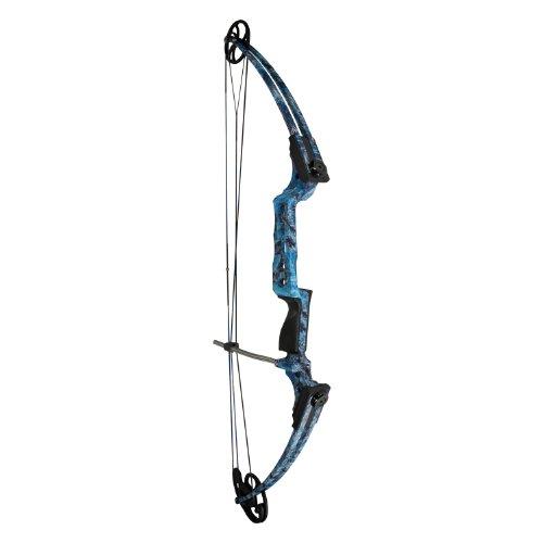 AMS B200L-KOI Left Hand Fish Hawk Bowfishing Bow Blue Camo