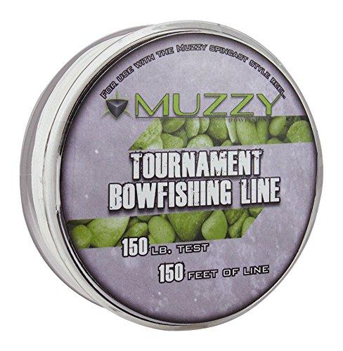 Muzzy 1076 Spool Size 150 Tournament Bowfishing Line 150 ft