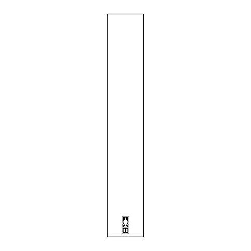 Bohning Solid Wraps White Standard Arrow Wrap 12pk