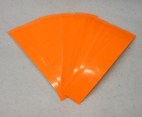 Pathfinder Carbon Arrow Wraps 7 Florescent Orange Pkg12
