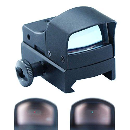 West Lake Mini Holographic Reflex Micro 3 MOA Green Red Dual Illuminated Dot Sight