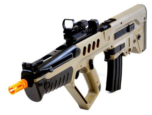 umarex tavor 21 desert tan aeg airsoft rifle w reflex dot sightAirsoft Gun