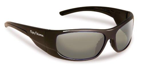caf30e7f28 Flying Fisherman Cape Horn Polarized Sunglasses Matte Black Frame Smoke Lens
