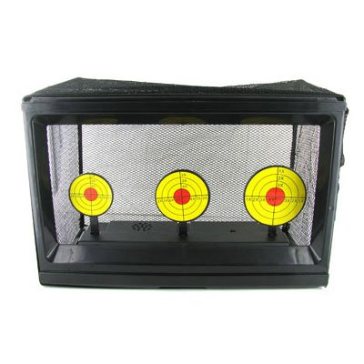 JustAirsoftUSA Electric Multifunction Airsoft Target Auto-Reset for Airsoft BB Gun Pellets