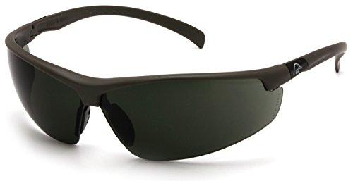 Ducks Unlimited Shooting Eyewear Black FrameSmoke Green Lens