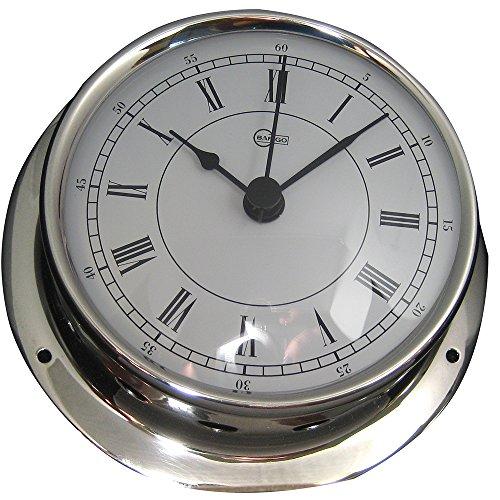 BARIGO Sky Series Quartz Ships Clock - Stainless Steel Housing - 33 Dial