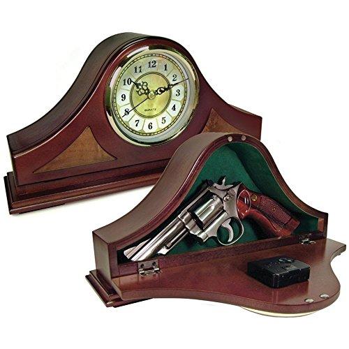 Peace Keeper Mantle Working Clock Gun Concealment Diversion Safe