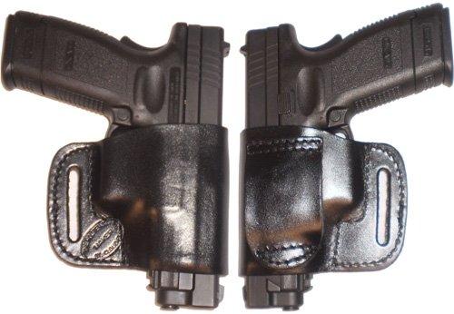 Taurus PT111 Millenium Pro Carry Belt Ride Gun Holster Right Hand Black
