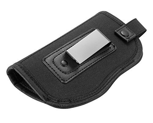 Handgun Belt NUOYOU Waist Belt Handgun Interchangeable Nylon Black Gun Holster for Medium Compact Subcompact Hand Guns
