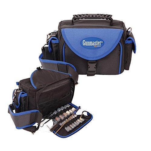 Gunmaster Deluxe Pistol Range Bag with Gun Cleaning Kit 22-Piece