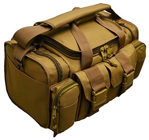Johnson Tactical Shooting Gun Pistol Range Gear Bag Coyote Tan