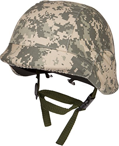 Modern Warrior Tactical M88 ABS Tactical Helmet with Adjustable Chin Strap Digital Camo