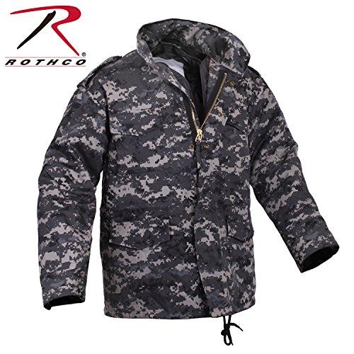 Rothco M-65 Field Jacket Subdued Urban Digital Camo X-Large