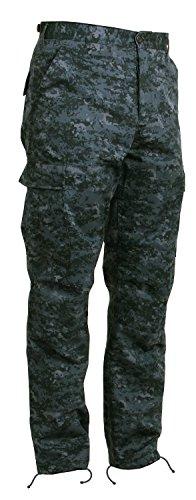 Rothco Tactical BDU Pants Midnight Digital Camo Medium