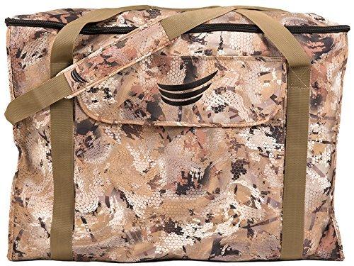 Tanglefree Flight Series 6-Slot Zip Top Full Body Goose Decoy Bag Optifade Camo