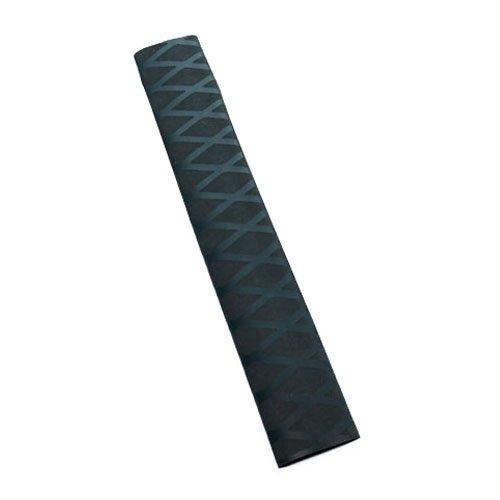 Non Slip Heat Shrink Rod Tube - SODIALR Non Slip Polyolefin X-TUBE Heat Shrink Tube Grip Fish Rod Racket HandleLength05M Tube Diameter40Mm Black