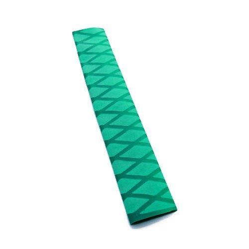 Non Slip Heat Shrink Rod Tube - SODIALR Non Slip Polyolefin X-TUBE Heat Shrink Tube Grip Fish Rod Racket HandleLength05M Tube Diameter40Mm Green