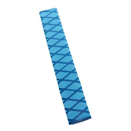 Non Slip Heat Shrink Rod Tube - SODIALR Non Slip Polyolefin X-TUBE Heat Shrink Tube Grip Fish Rod Racket HandleLength1M Tube Diameter40Mm Blue