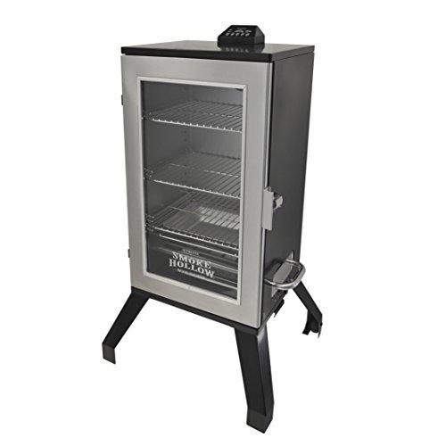 Smoke Hollow 3016DEWS 30-Inch  Digital Electric Smoker with Window Stainless Steel