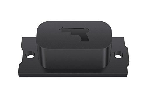 Awesafe Gun Magnet Gun Mount Holder with 30 lb Rating Firearm Accessory Used In Home Office Car Vehicle Desk Truck Wall etc Concealed Holder For Handgun Rifle Shotgun Pistol Revolver