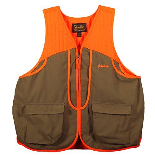 Gamehide Ladies Womens Upland Field Hunting Vest TanOrange 2X-Large