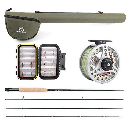 Maxcatch Explorer Fly Fishing Rod Combo Kit 5weight 5wt Rod Combo