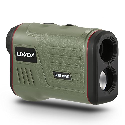 Lixada Laser Rangefinder 600 Yards Hunting and Golf Range Finder with Speed Monocular Distance Meter Speed Tester