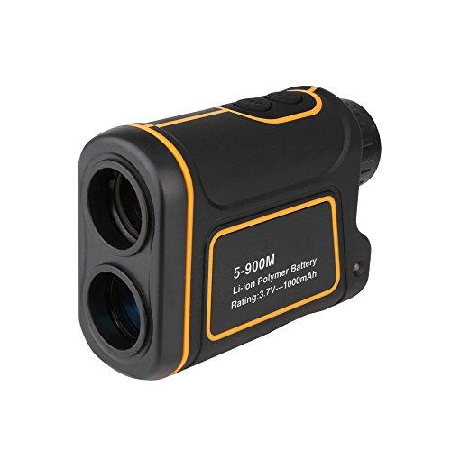 Signstek 984 Yards Laser Golf Range Finder 8x magnification waterproof Hunting Rangerfinder for Measuring Distance Speed Angle and Height