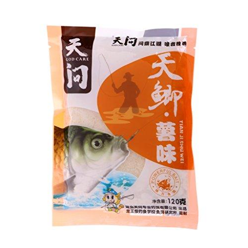 Fishing Bait 1 Bag Pole Quick Carp Fishing Baits Grain Sweet Potato Worms Attractant Flavors Sweet potato flavor