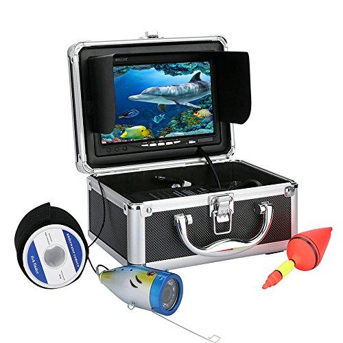30m Professional Fish Finder Underwater Fishing Video Camera 7 Color HD Monitor 1000TVL HD CAM