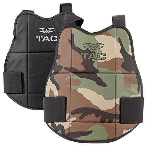 Chest Protector - V-TAC Reversible-WoodlandBlack