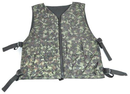 GXG Reversible Digi GreenBlack Tactical VestChest Protector