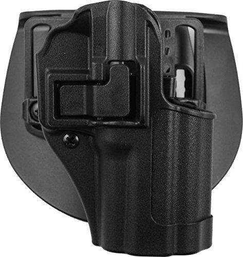 BLACKHAWK 410579BK-R SERPA CQC Concealment Holster with Matte Finish Black Size 79