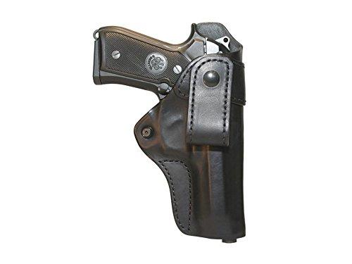 BLACKHAWK 420429BK-R Leather Inside-The-Pants Holster Black Size 29