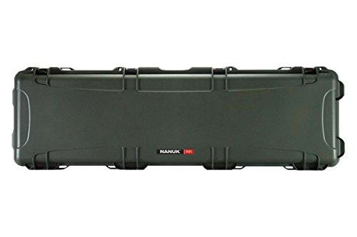 Nanuk 995 Waterproof Professional Gun Case with Foam for Rifle Olive Long