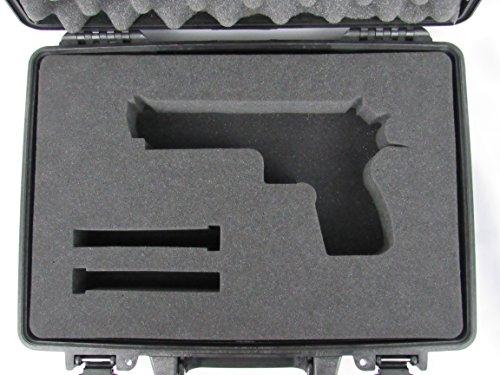Pelican Case 1470 w Custom Foam Insert for Desert Eagle Handgun Case Foam by Cobra