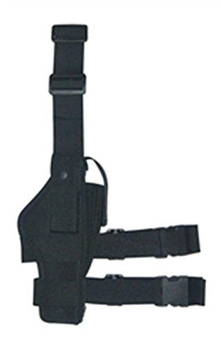 Ultimate Arms Gear Stealth Black Drop Leg Holster Fits Browning Buckmark Handguns Pistols