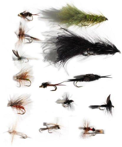 Flies Direct Trout Fishing Fly Assortment 2-Dozen