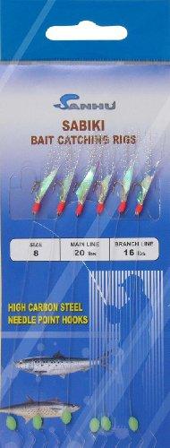 Sabiki Rigs - Size 8 - Model 417 -10 Packs
