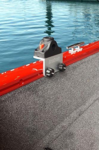 Brocraft Universal Track Bracket for Tracker Boat Versatrack System 90 degree Lund Sport Track