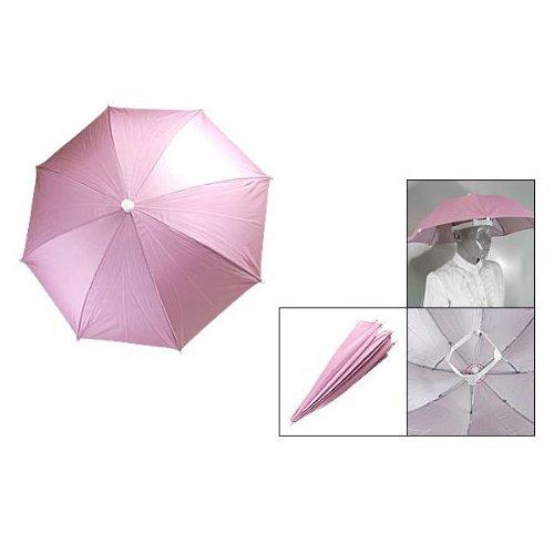 Dcolor Pink Outdoor Sports Fishing Umbrella Hat Headwear