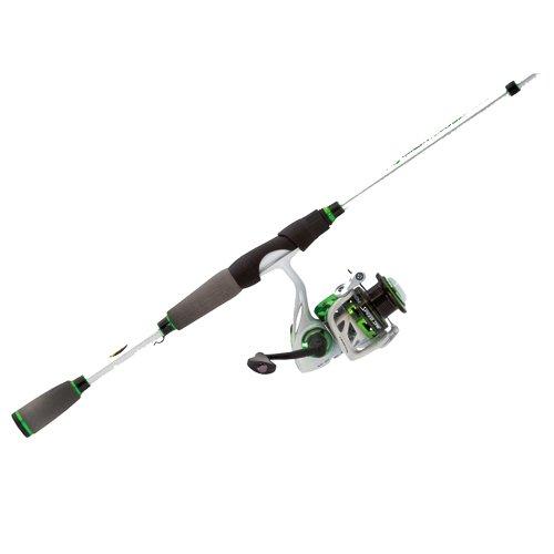 Lews Fishing M13069MFS Mach 1 Speed Spinning Combo 69 62 1 Gear Ratio 91 Bearings Medium Power
