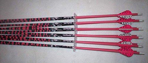 Gold Tip Ted Nugent 5575400 Carbon Arrows wBlazer Vanes 1 Dz