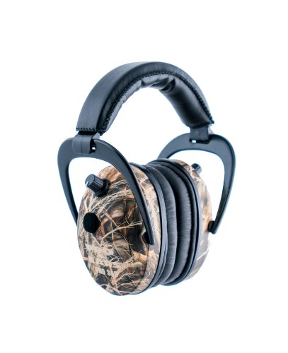 Pro Ears - Pro 300 - Electronic Hearing Protection and Amplification - NRR 26 - Ear  Muffs - Max 4 Camo