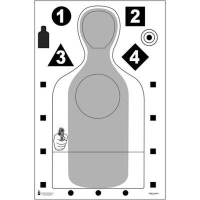 Escondido CA PD Qualification Target 100 pack