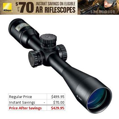 Nikon M-308 4-16x42mm Riflescope w BDC 800 ReticleBlack