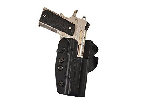 Paddle Holster - FBI Cant - Left - Kimber Pro 4 all nonrail models