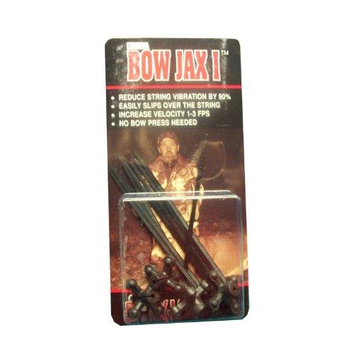 Bowjax 1034 Ultra Bowjax I Dampener-Pack of 4 Black